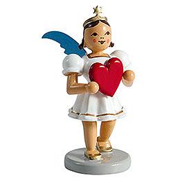 Angel Short Skirt Colored, Heart  -  6,6cm / 2.6 inch