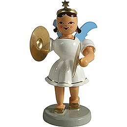 Angel Short Skirt with Cymbals, Colored  -  6,6cm / 2.6 inch