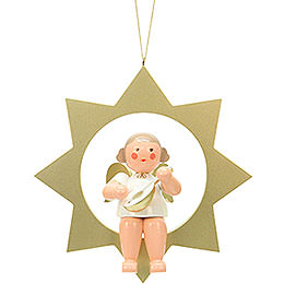 Angel on Star  -  26,0cm / 10 inch