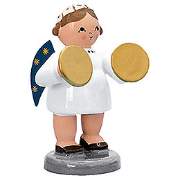 Angel with Rattles  -  5cm / 2 inch