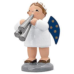 Angel with Shawm  -  5cm / 2 inch