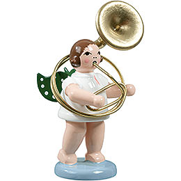 Angel with Sousaphone  -  6,5cm / 2.5 inch