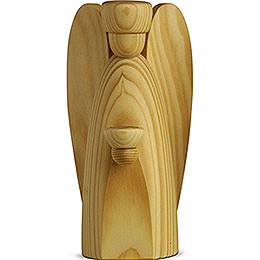 Angle Candle Holder  - , Natural  -  17cm / 6.7 inch