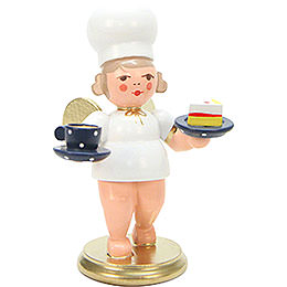 Baker Angel with Cup  -  7,5cm / 3 inch