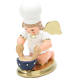 Baker Angel with Dish  -  7,5cm / 3 inch