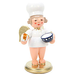 Baker Angel with Egg  -  7,5cm / 3 inch