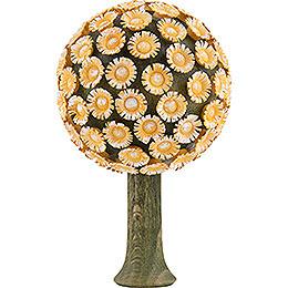 Blossom Tree Yellow  -  8,5x5cm / 3.3x2 inch