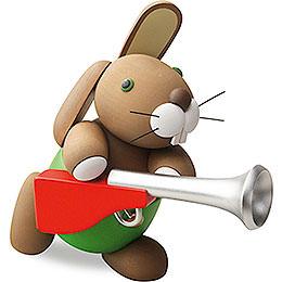 "Bunny ""Hajo"" with Musket  -  16cm / 6.3 inch"