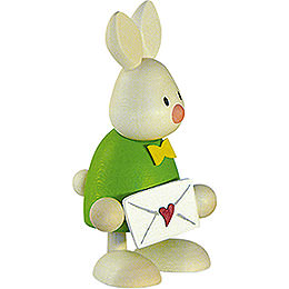 Bunny Max with Love Letter  -  9cm / 3.5 inch