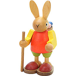 Bunny with Basket  -  9,0cm / 4 inch