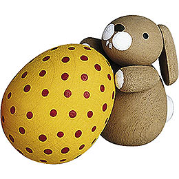 Bunny with Egg  -  2,7cm / 1.1 inch