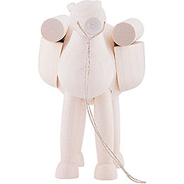 Camel, standing  -  White  -  11cm / 4.3 inch