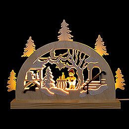 Candle Arch  -  Advent Market  -  23x15cm / 9.1x5.9 inch