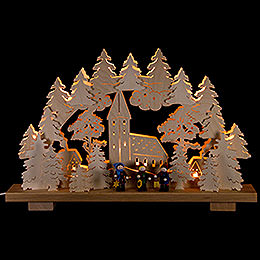Candle Arch  -  Caroler  -  50x32cm / 20x13 inch