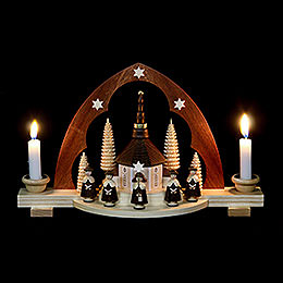 Candle Arch  -  Carolers  -  30cm / 12 inch