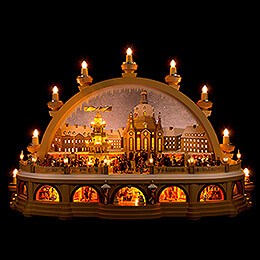 Candle Arch  -  Christmas Market of Dresden  -  2nd Limited Edition  -  81x31x52cm / 32x12x20 inch