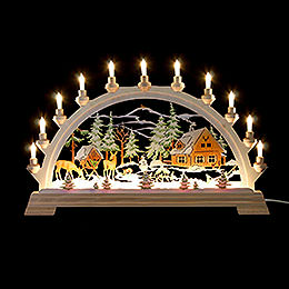 Candle Arch  -  Forester's House, Colored  -  65x40cm / 26x17.5 inch