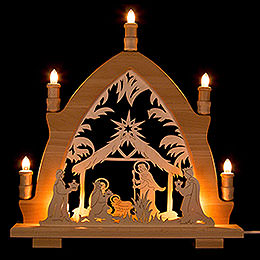 Candle Arch  -  Nativity  -  41x42cm / 16.1x16.5 inch