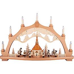 Candle Arch  -  Seiffen Village  -  68x44cm / 26.8x17.3 inch