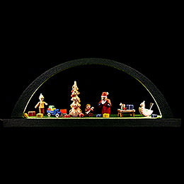Candle Arch  -  The Giving  -  Green  -  40x16cm / 15.7x6.3 inch