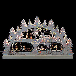 Candle Arch  -  The Mine  -  62x37x5,5cm / 24x15x2 inch