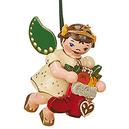 Christbaumschmuck Engel Nikolausstiefel  -  6cm