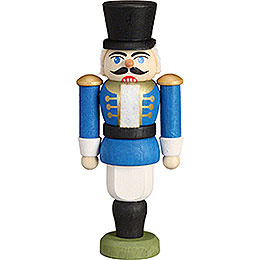 Christbaumschmuck Nussknacker  -  Husar blau  -  9cm