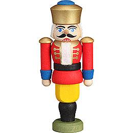 Christbaumschmuck Nussknacker  -  König rot  -  9cm
