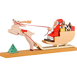 Christmas Sled  -  6cm / 2.4 inch