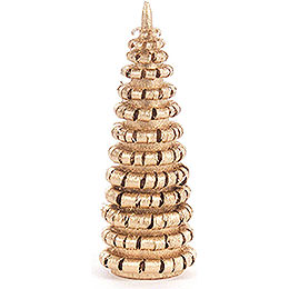 Coiled Tree without Trunk  -  Golden  -  6cm / 2.4 inch