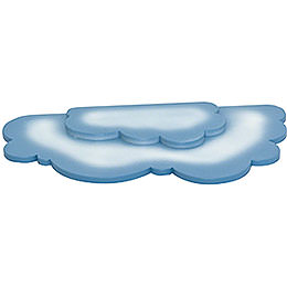 Double Cloud for Snowflake  -  35x18cm / 14x7 inch