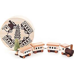 Eisenbahn in Spandose  -  4cm