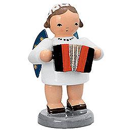 Engel mit Harmonika  -  5cm
