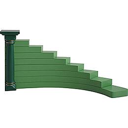 Engelstufen für Blumenkinder rechts, grün  -  16cm