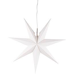 Erzgebirgischer Fensterstern weiß  -  53cm