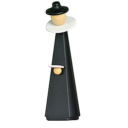 Figurine Caroler with sheet of music  -  11cm / 4.3 inch