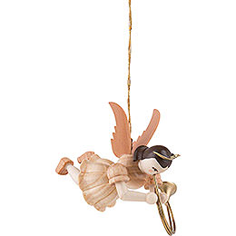 Floating Angel Alto Horn, Natural  -  6,6cm / 2.6 inch
