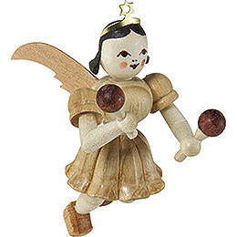 Floating Angel Maracas, Natural  -  6,6cm / 2.6 inch