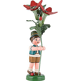 Flower Child Boy with Tobacco  -  24cm / 9,5 inch