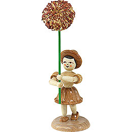 Flower Child Chrysanthemum, Natural  -  12cm / 4.7 inch