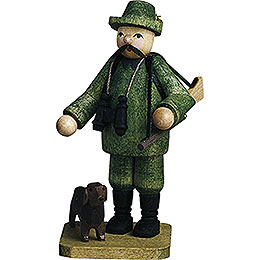 Forester with Dog  -  7cm / 2.8 inch