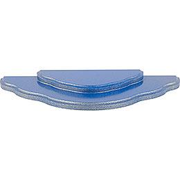 Grundwolke 2 - stufig für Stecksystem  -  blau/gold  -  32,5x16x2,4cm