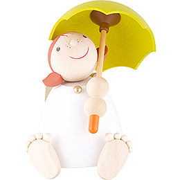 Guardian Angel with Umbrella  -  16cm / 6.3 inch