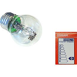 Halogen Light Bulb E27, 30 W