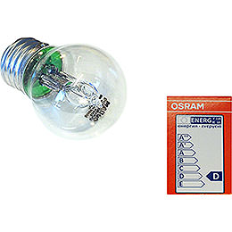 Halogenlampe E27, 30 W