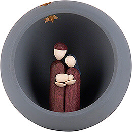 Hand Nativity  -  grey  -  9cm / 3.5 inch