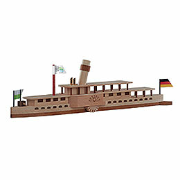 Handicraft Set Steamboat 'Dresden'  -  23x7cmcm / 9x3 inch