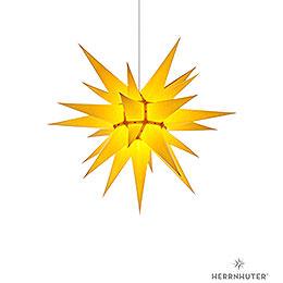Herrnhuter Stern I6 gelb Papier  -  60cm