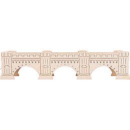 Illuminated Stand  -  Augustus Bridge  -  54,5x11,5cm / 21.5x4.5 inch
