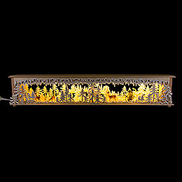 Illuminated Stand for Candle Arches Walki Hunter  -  80x15cm / 31.5x5.9 inch